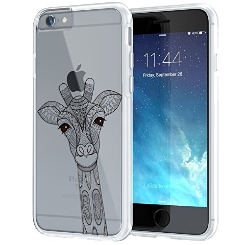 iphone-6-6s-case-47-true-colorc-ornamental-giraffe-printed-on-clear-transparent-hybrid-cover-hard-so