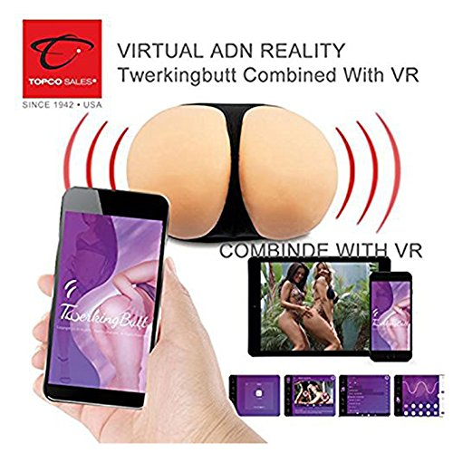 CyberSkin APP Enabled Twerking Robot Butt Droid Action Male Masturbators Deluxe by CyberSkin