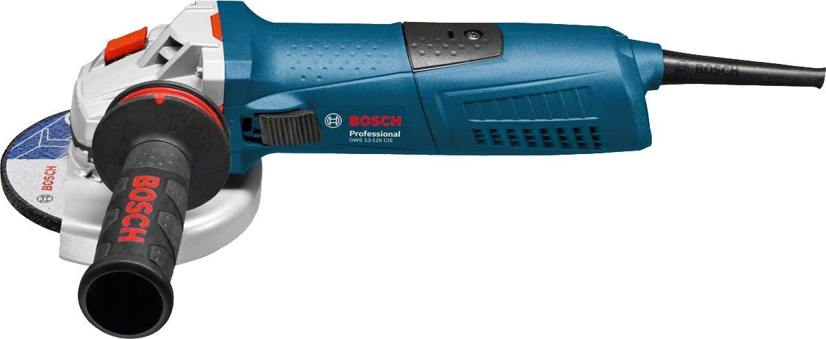 Bosch 125 mm Angle Meuleuse GWS 13-125 CI 1300 W dans la valise