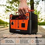 AIMTOM 300-Watt Portable Power Station – 280Wh Battery Powered Generator Alternative with 12V, 24V, AC and USB Outputs…