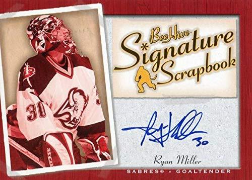 Ryan Miller Autographed 2006 Upper Deck Card - Hockey Slabbed Autographed Cards ()