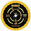 DEWALT DW72100PT 12-Inch 100T Ultra-Smooth Crosscutting Saw Blade from DEWALT