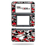 #8: MightySkins Protective Vinyl Skin Decal for New Nintendo 3DS XL (2015) Case wrap cover sticker skins Red Camo