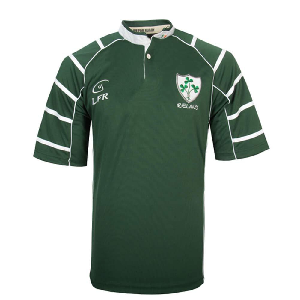 メンズアイルランドラグビージャージー グリーン 3L