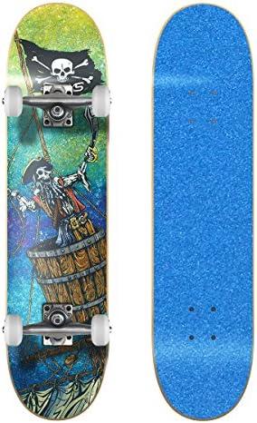 SkateXS ビギナー 海賊 ストリート スケートボード