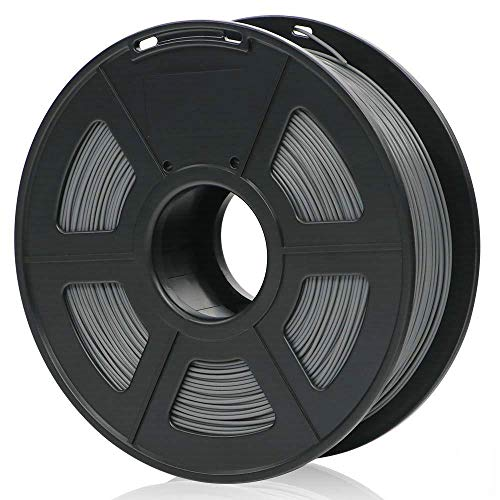 ANYCUBIC 1.75mm PLA 3D Printer Filament - 1kg Spool (2.2 lbs) - Dimensional Accuracy +/- 0.05mm (Grey)