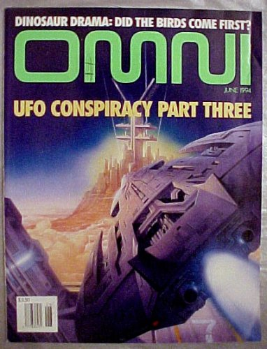 Omni Magazine June 1994 (UFO Conspiracy Part Three, for sale  Delivered anywhere in USA