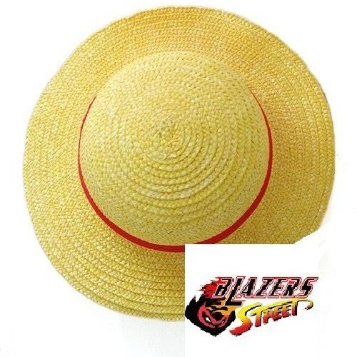 Blazers Street Costumes - Handmade One Piece Straw Hat Inspire From Luffy Cosplay,