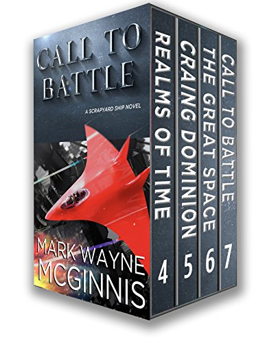 Scrapyard Ship Series Books: 4 - 7 (The Scrapyard Ship Boxset Book 2)