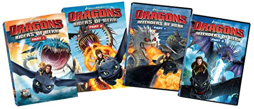 Dragons: Riders of Berk (Part 1 & 2) / Dragon: Defenders of Berk (Part 1 & 2)
