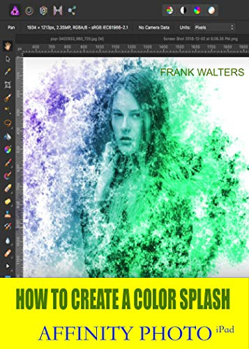 How to Create a Color Splash Effect: Affinity Photo for iPad