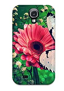 First-class Case Cover For Galaxy S4 Dual Protection Cover Butterfly