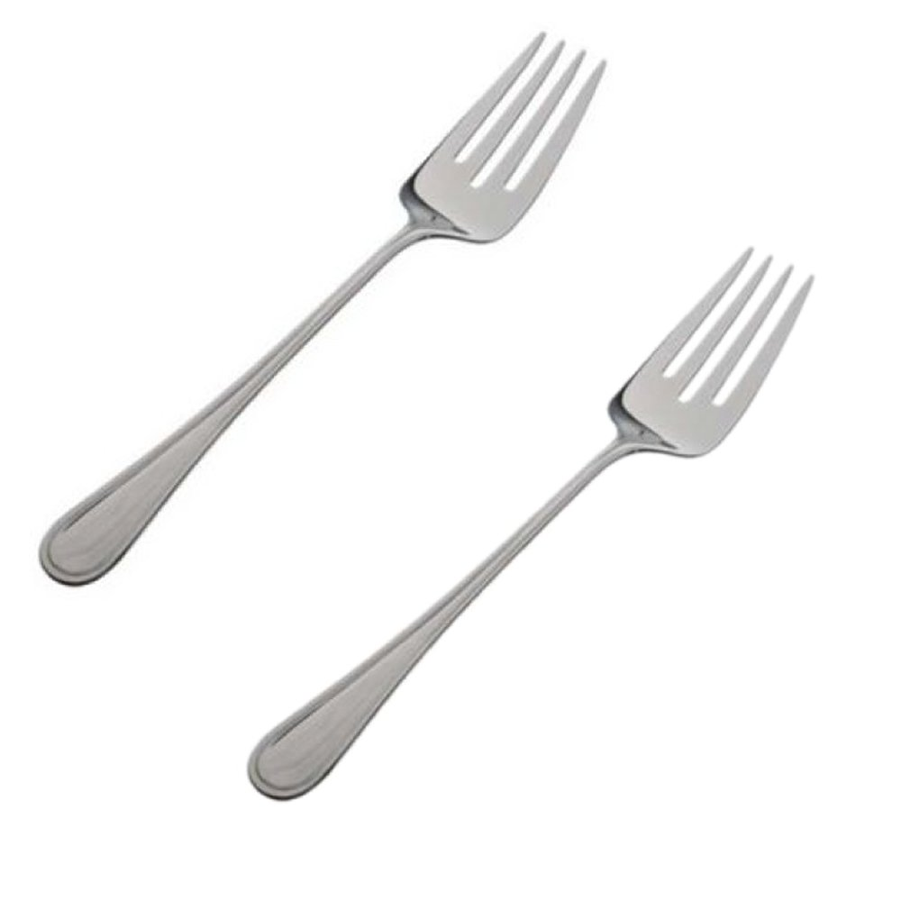 11 1/2' Stainless Steel Banquet Serving Fork - Set of 2 W&P Trading Corp