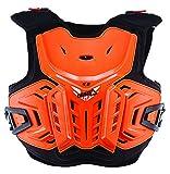 Leatt 5017120120 Orange Junior Chest protector,5 Pack