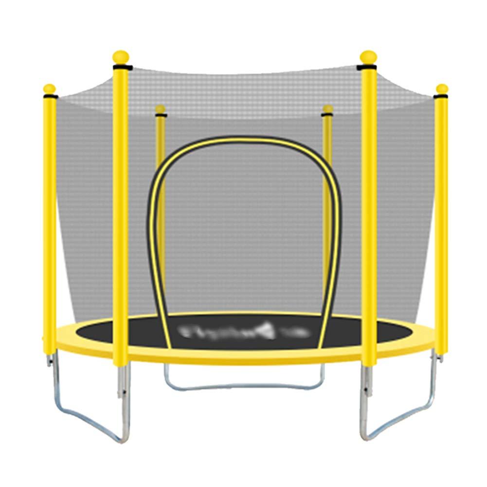 Trampolines DE 59 Pouces avec Tampon de sécurité et Main Courante, Fun Mini Fitness Trampoline de 5 Pieds pour Enfants Adultes - Charge Max