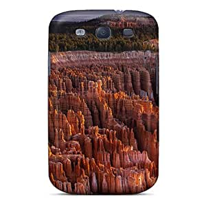 New Shockproof Protection Case Cover For Galaxy S3/ Amazing Sstone Formation In A Canyon Case Cover
