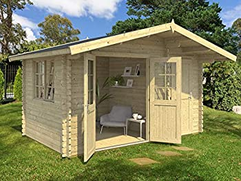 Allwood Cabin Estelle 5 is a high quality multi purpose solid wood kit cabin. The interior of this cabin consists of two sections separated by a wall. The main room is 106 SQF and the smaller one is 51 SQF. The smaller room is intended to function as...
