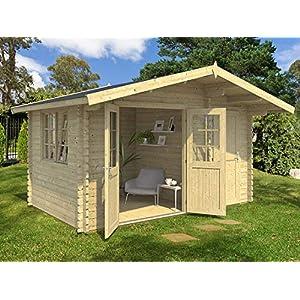 Best Epic Trends 51dDjZ3lG5L._SS300_ Allwood Estelle 5 | 157 SQF Cabin Kit, Garden House