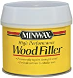 Minwax 21600000 High-Performance Wood Filler, 12-Ounce Can
