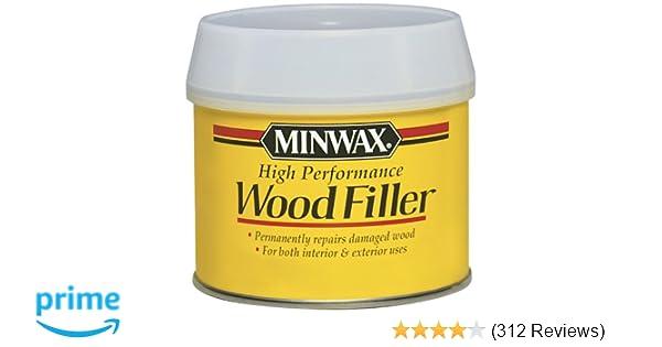 Minwax 21600000 High Performance Wood Filler 12 Ounce Can