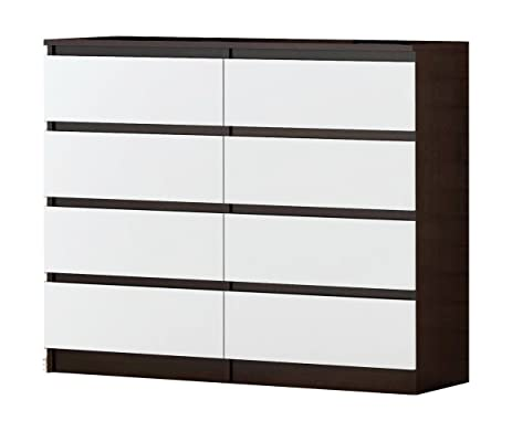 Amazoncom Dresser with 8 Drawers in different color