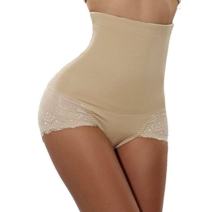 64f004e3b4e7 Amazon.com: AOBRITON Women Ladies Control Panties Butt Lifter High Waist  Tummy Control Panty Slimming Body Shaper: Clothing