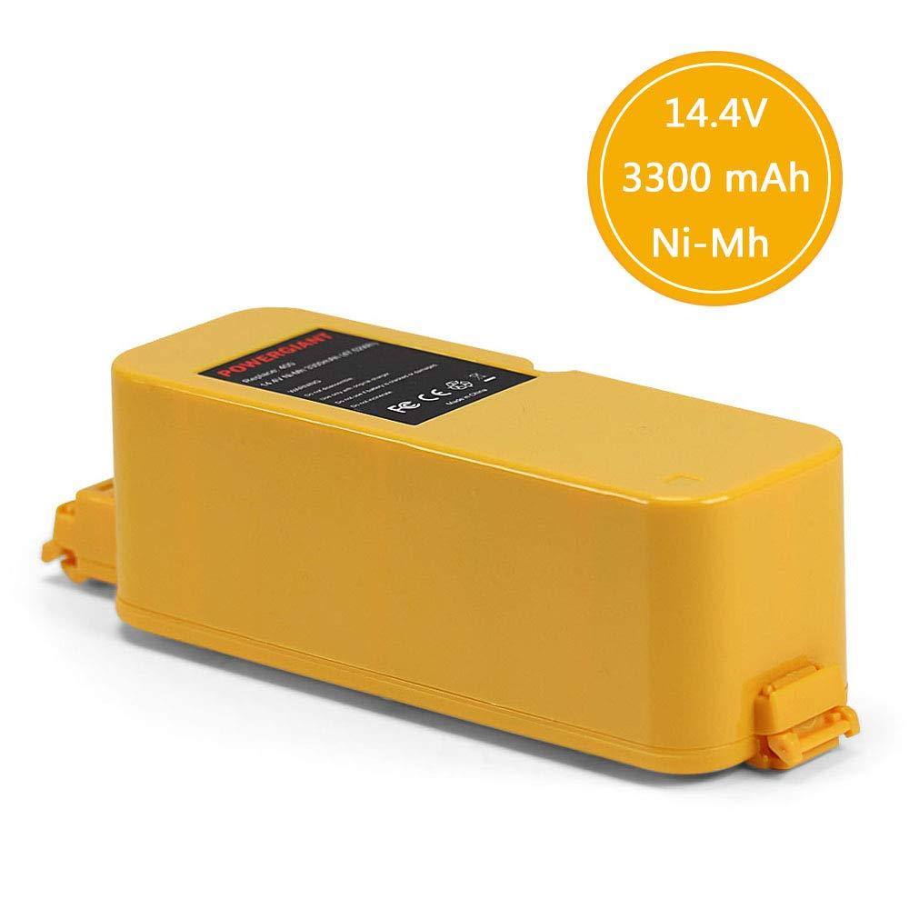 POWERGIANT 14.4V 3.3Ah NI-MH Batería para iRobot Roomba 400 405 410 400 415 416 418 4000 4100 4105 4110 4130 4150: Amazon.es: Bricolaje y herramientas
