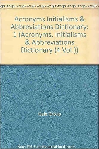 Abbreviation dictionary free download