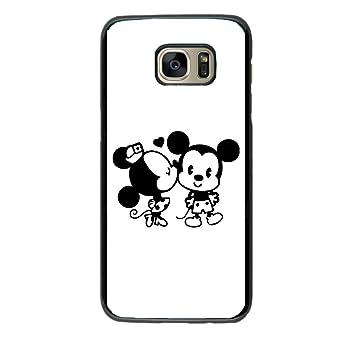 Coque Pour Samsung S5 Mini Mickey Minnie Disney Bisou Dessin