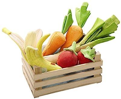HABA Soft Biofino Vegetable Basket Grocery Toy
