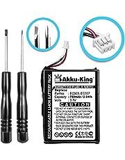Akku-King Akku kompatibel mit Apple EC003, EC007, EC007-5 - Li-Ion 750mAh - Inkl. Werkzeug - für iPod Mini, iPod 3