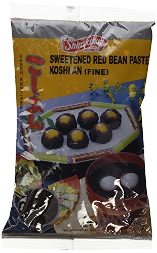 Koshi an (Fine Sweeted Red Bean Paste) - 17.6oz (Pack of 1) - Red Paste