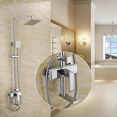 ZXYShower shower set copper shower shower faucet