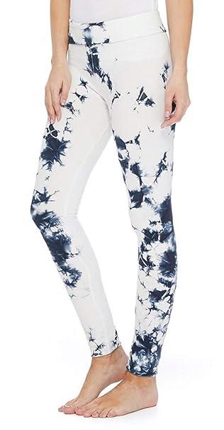 Amazon.com: T Party Leggings para mujer, azul marino y ...
