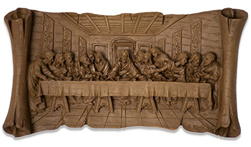 Resin Last Supper Plaque (10