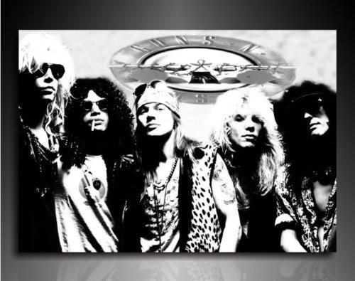 Bilder Kunstdrucke   Boikal   Bild mit Keilrahmen Guns N' Roses 100x70 cm xxl.333
