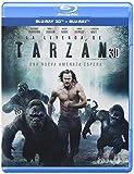The Legend of Tarzan - La Leyenda de Tarzan (Blu-ray 3D + Blu-ray + Digital Copy) - Audio & Subtitles: English, Spanish and Portuguese - IMPORT