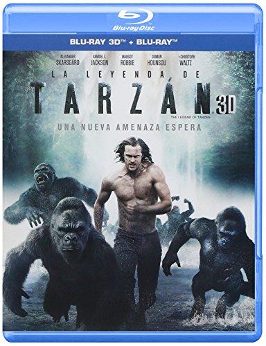 The Legend of Tarzan - La Leyenda de Tarzan (Blu-ray 3D + Blu-ray + Digital Copy) - Audio & Subtitles: English, Spanish and Portuguese - (Tarzan 3)