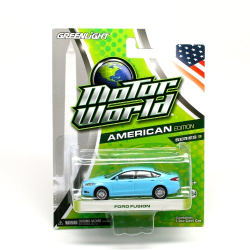 ford-fusion-blue-2013-motor-world-series-9-american-edition-164-scale-die-cast-vehicle