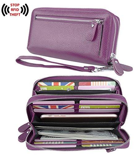 Zippered Womens Wallet - 5