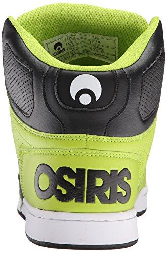Osiris Heren Nyc83 Skateschoen Lime / Wit
