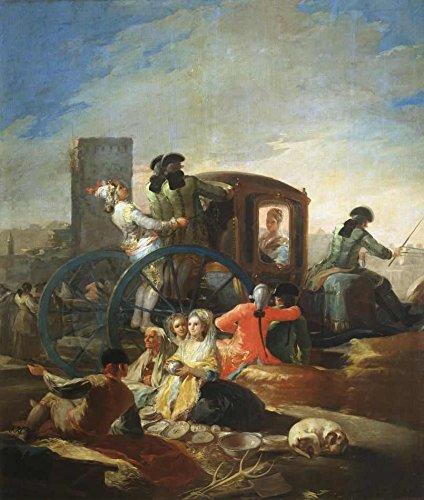 O Vendedor de Louças - Francisco de Goya | Tela Gigante Para Quadro