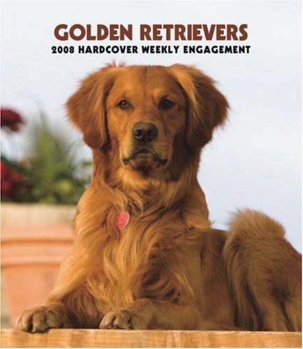 Retriever 2008 Calendar - Golden Retrievers 2008 Hardcover Weekly Engagement Calendar (German, French, Spanish and English Edition)
