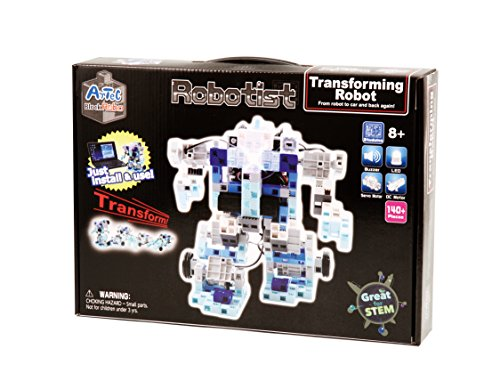 Robotist Transforming and Programmable Robot Electronic Building Kit