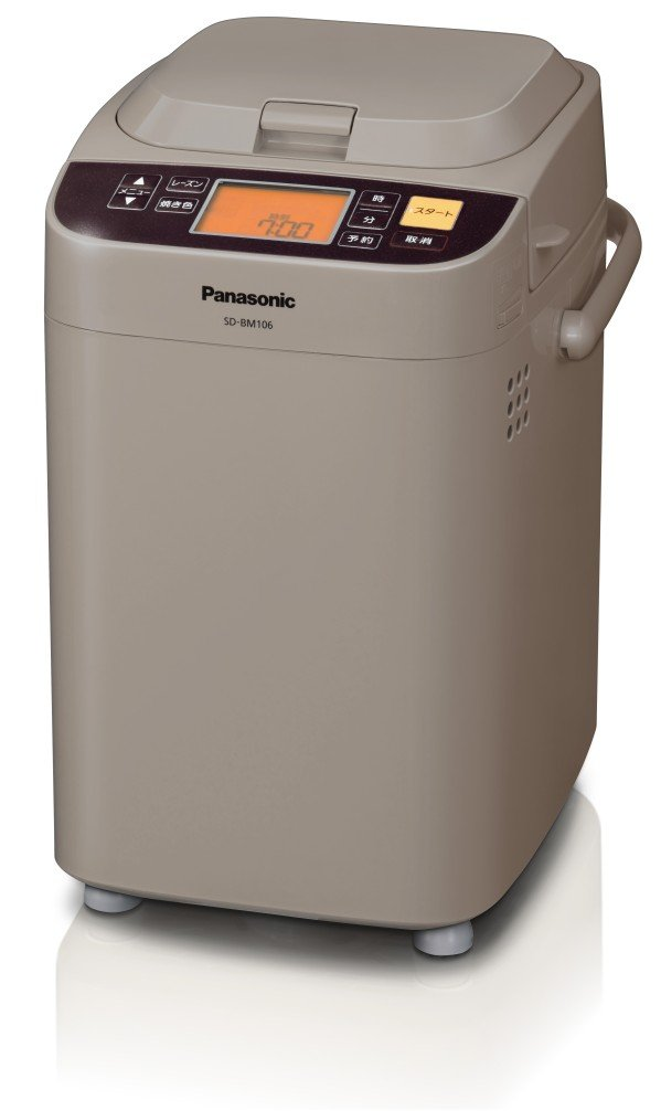 Panasonic home bakery:   Home bakery loaf type Cocoa Brown SD-BM106-CT