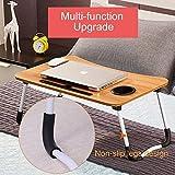 Foldable Laptop Table, CHARMDI Portable Laptop