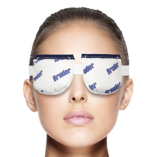 Bruder Moist Heat Eye Compress | Microwave Activated. Relieves Dry Eye, Styes, Meibomian Gland Dysfunction | #1 Doctor Recommended Professional -