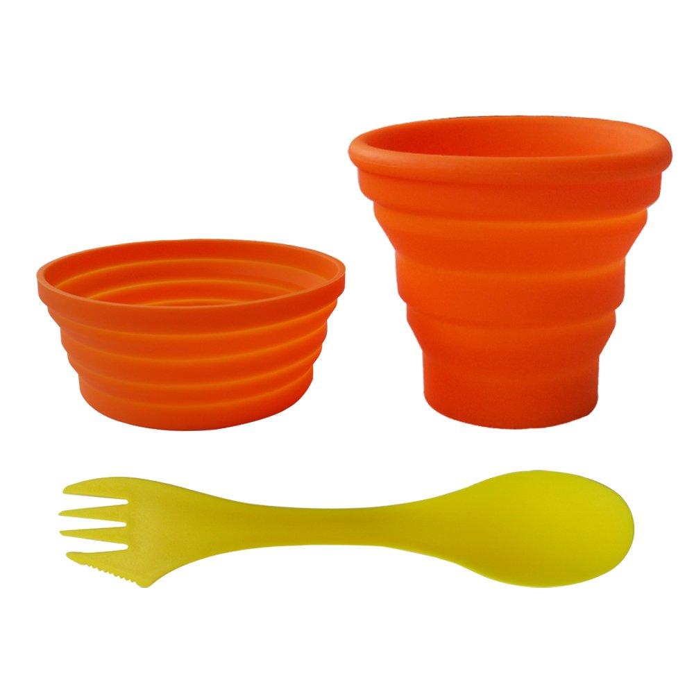 Collapsible Bowl Cup Set