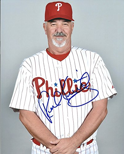 Autographed Rick Kranitz 8x10 Philadelphia Phillies Photo
