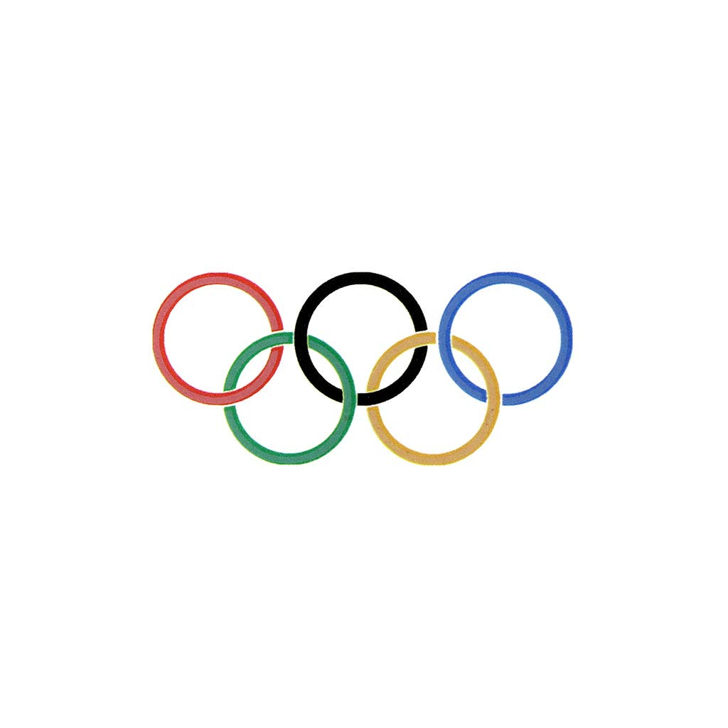 Amazon.com : Small Olympic Rings Temporary Tattoos (10 pack ...